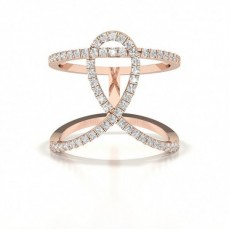 Rose Gold Everyday Diamond Rings