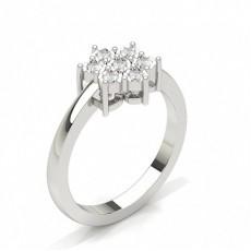 Round Promise Diamond Rings