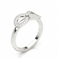 Fashion Studded Diamond Ring