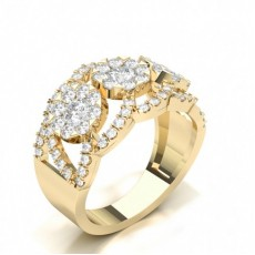 Yellow Gold Ready To Deliver Diamond Rings