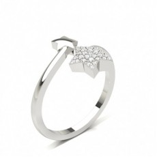 Rond Illusion Bague Diamant