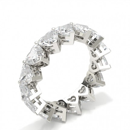 Alliance tour complet diamant serti griffes