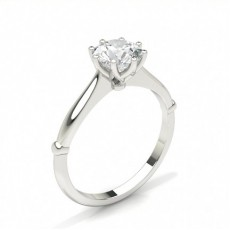 Prong Setting Diamond Engagement Ring
