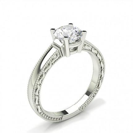 Prong Setting Diamond Engagement Ring