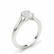 Pear Solitaire Diamond Engagement Rings