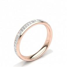 Women's Baguette Diamond Wedding Rings