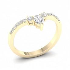 Alliance Diamant Rond Confort Profil en 2.0mm
