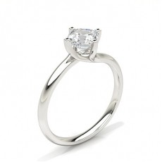 Asscher Classic Solitaire Engagement Rings