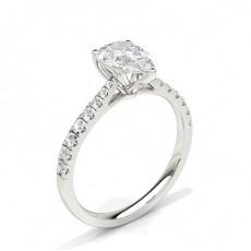 Pear Diamond Engagement Rings