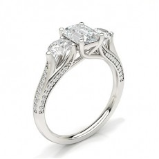 Radiant Engagement Rings