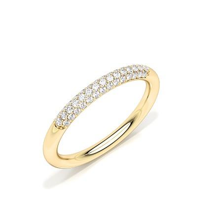 Zinkeneinstellung Diamant Ehering