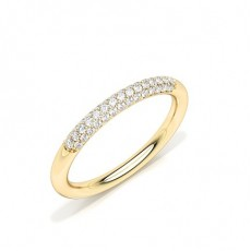 Prong Setting Diamond Wedding Band