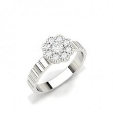 White Gold Everyday Diamond Rings