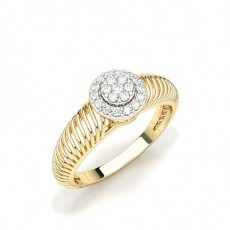 Yellow Gold Everyday Diamond Rings