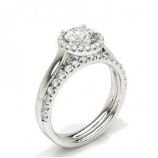 Pear Bridal Diamond Engagement and Wedding Ring Sets