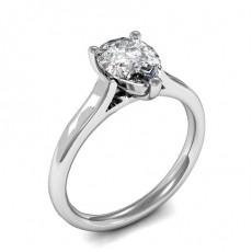 Bague de fiançailles solitaire diamant poire serti 3 griffes - HMSR658_01