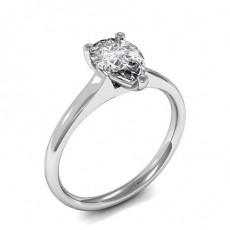 Bague de fiançailles solitaire diamant poire serti 3 griffes - HMSR729_01