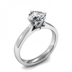 White Gold Classic Solitaire Engagement Rings