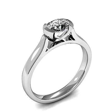 Diamant Verlobungsring in einer Krappenfassung