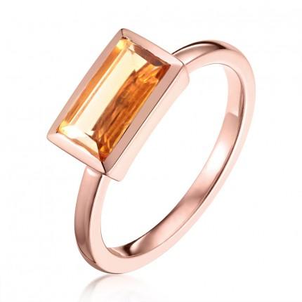 Sacet Ornate Citrine Ring - BLDR05_RV