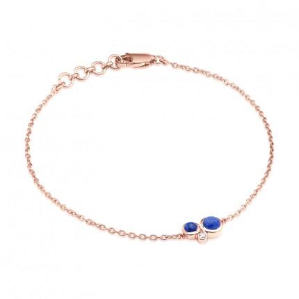 Sacet Orbis Lapis Fine Chain Bracelet - BUBB01_RV
