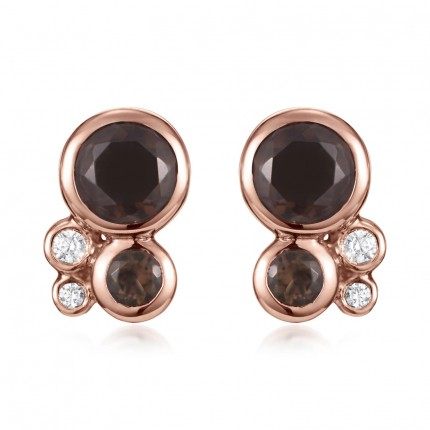Sacet Orbis Cluster Stud Earrings - BUBE01_RV