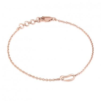 Sacet Marque Small Hoop Chain Bracelet - MRQB01_RV