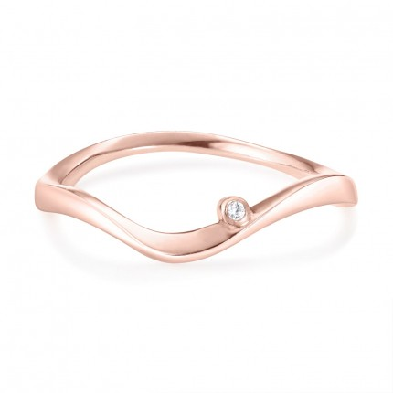 Sacet Marque Curved Ripple Ring - MRQR04_RV